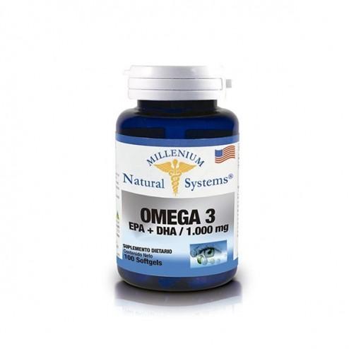 Omega 3 Epa + Dha / 1300 mg x 100 Softgels - Natural Systems
