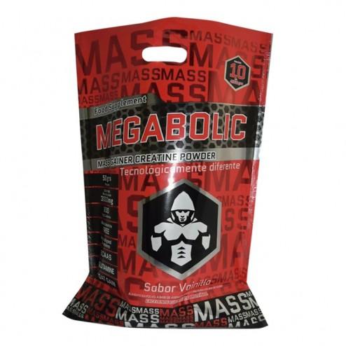 Megabolic Mass Gainer 10 Lb Excelente Ganador De Masa Muscular