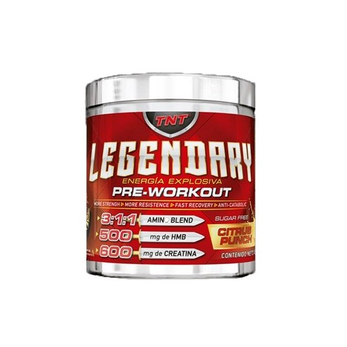 LEGENDARY PRE-WORKOUT X 30 SERVICIOS