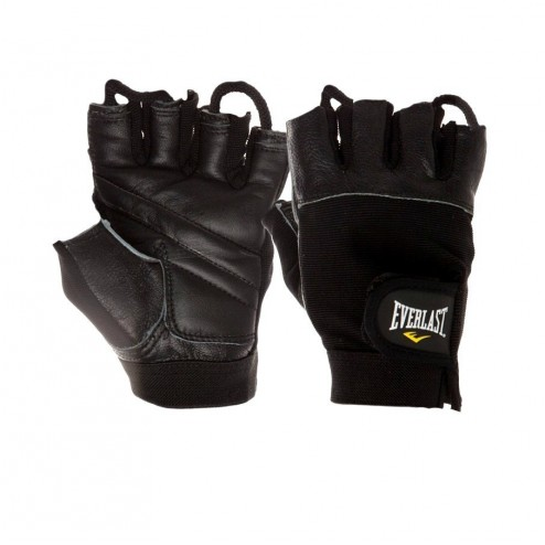 Guantes Everlast Authority Ii Cuero Para Pesas, Gimnasio Gym
