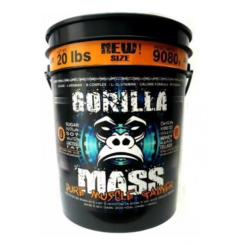 Gorilla Mass 15lb Proteina. Ganancia Muscular Magra