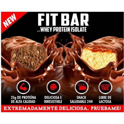 Fit Bar Barra Proteina Upn Caja X 12 Unidades