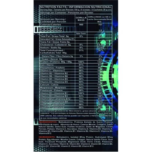 GORILLA MASS SUPER PREMIUM PROTEIN x 10lbs