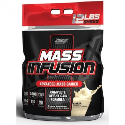 MASS INFUSION NUTREX x 6 Libras