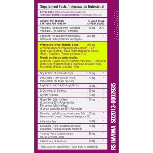Dtx (Detox) x 60 Cápsulas - Healthy Sports