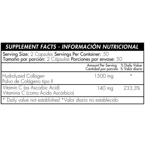 Hydrolized Collagen+ vitamin c x 100 Healthy America
