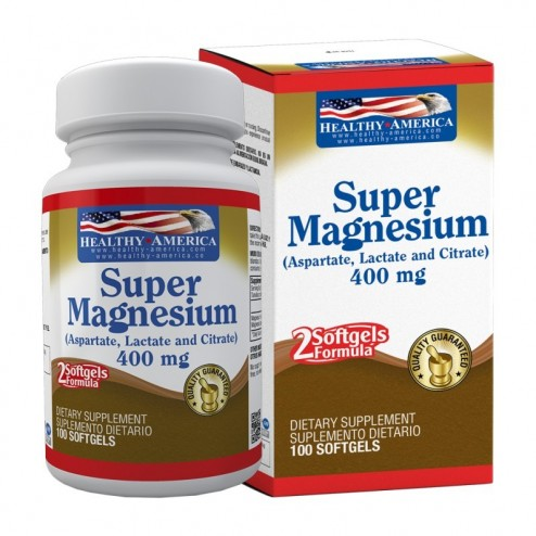 SUPER MAGNESIO x 100 Softgels