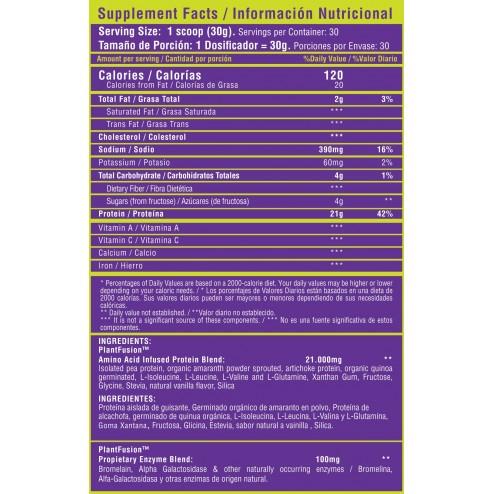 Vegan Protein x 2 Libras - Healthy Sports