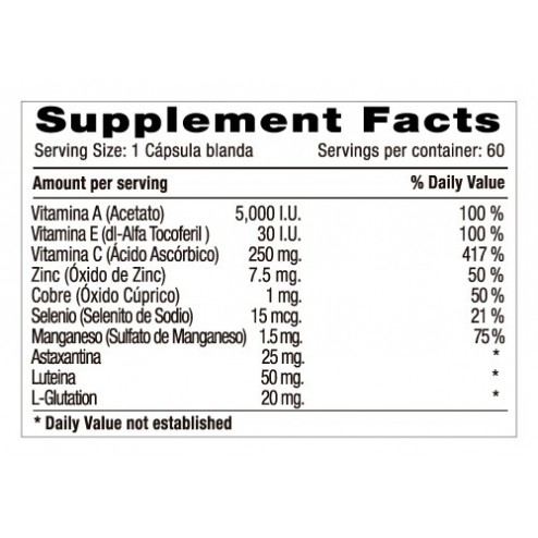 Antioxiplus Minerals x 60 Softgels - Natural Systems