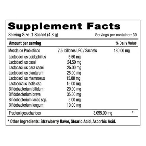 Bwell Probiotics & Prebiotics x 30 Sachets - Natural Systems