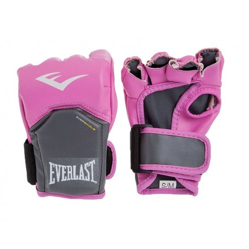 Guantes Rosados Everlast Competition Style MMA Gloves
