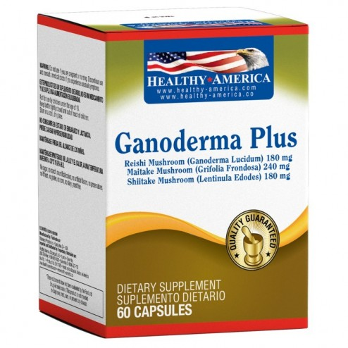 Ganoderma Plus 60 Capsulas Healthy