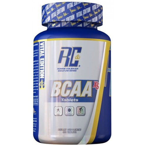 BCAA XS 2200 X 400 TABS RONNIE COLEMAN
