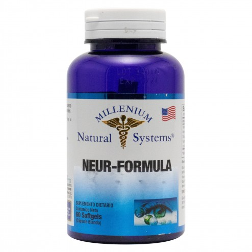 Neur-Formula x 60 Softgels Millenium Natural Systems