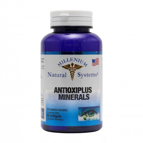Antioxiplus Minerals x 60 Softgels Millenium Natural Systems