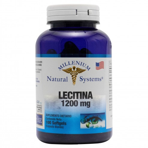 LECITHIN 1200 MG x 100 Softgels Natural Systems