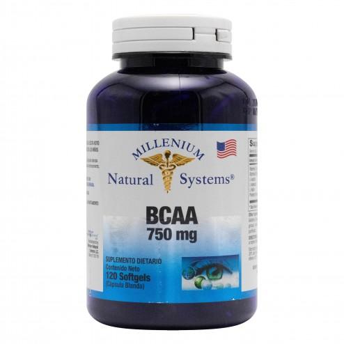 BCAA 750 MG 120 Perlas NATURAL SYSTEMS