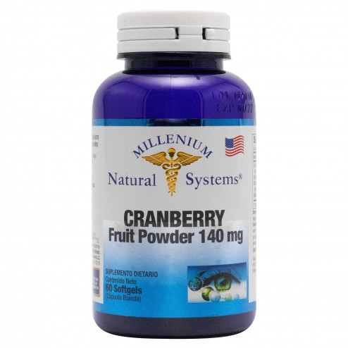 Cranberry 140mg x 60 Softgels - Natural Systems