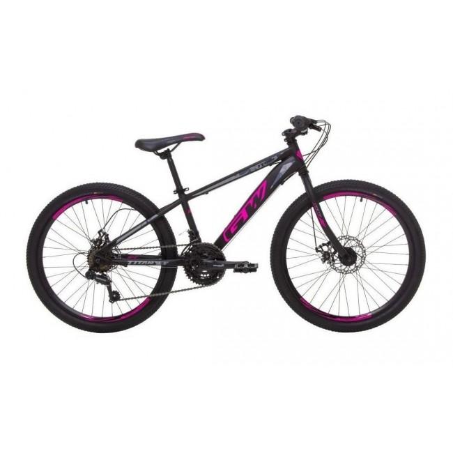 Bicicleta Mtb Gw Titan Rin 24 Shimano 7 Velocidades