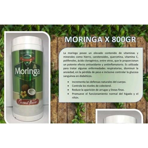 Moringa En Polvo X 800g  Con Vitamina C