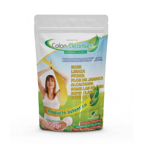 FIBRA COLON CLEANSER X 450 GRAMOS