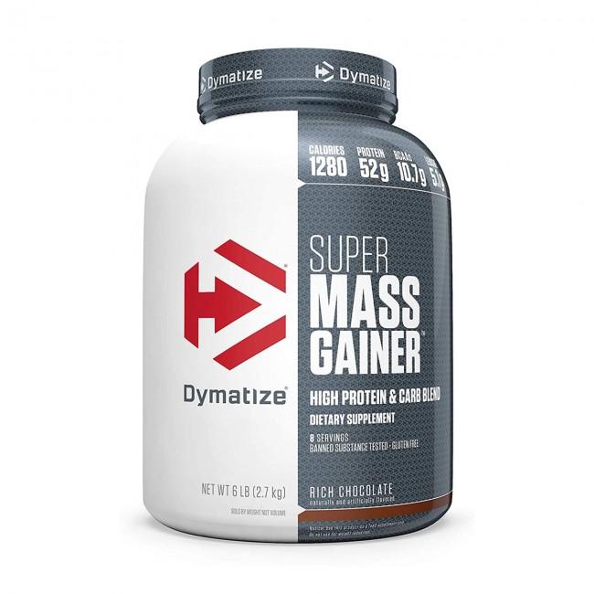 Super Mass Gainer Sabor Chocolate - 6 lbs - Dymatize