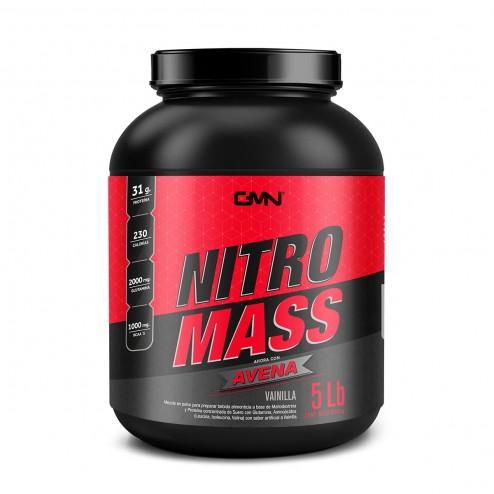 Nitro Mass Sabor Vainilla x 5 Lbs - GMN