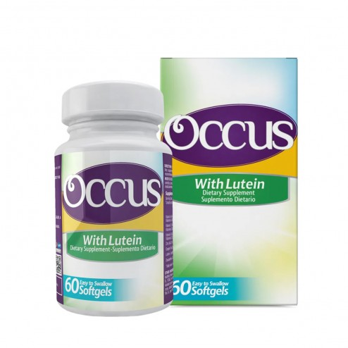 Occus Con Luteina x 60 Softgels - Healthy America