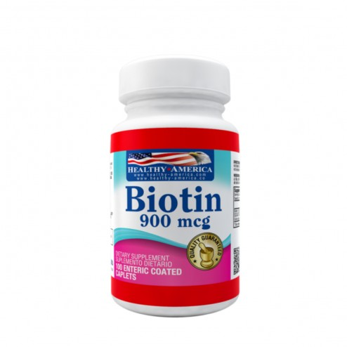 Biotin 900 Mcg x 120 Softgels - Healthy America