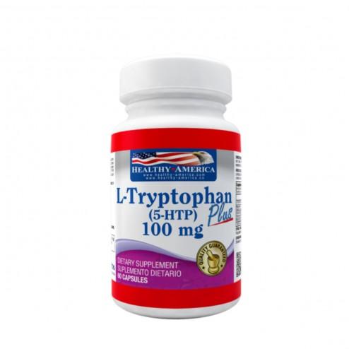 L-Tryptophan plus x 60 cápsulas - Healthy America
