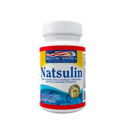 Natsulin 60 cápsulas - Healthy America