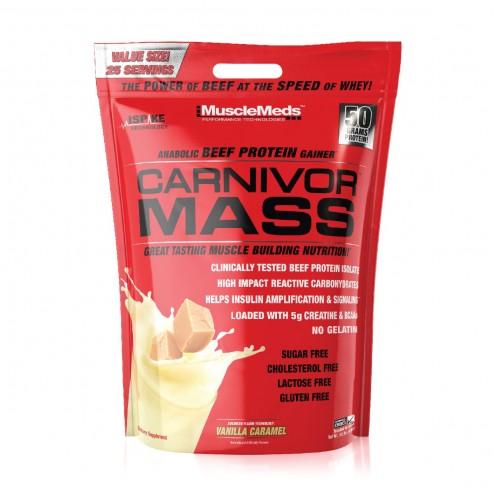 Carnivor Mass Sabor Vainilla x 10lbs - Musclemeds
