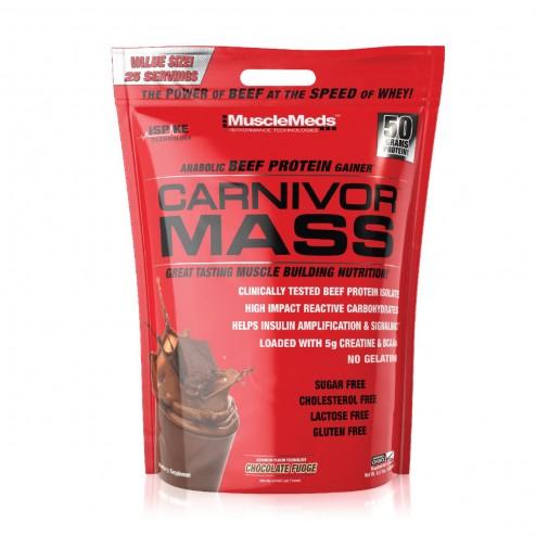 Carnivor Mass Sabor Chocolate x 10lbs - Musclemeds