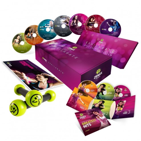 Zumba Exhilarate Pesas + Dvd